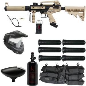 Tippmann Cronus Tactical Paintball Gun Rookie Package