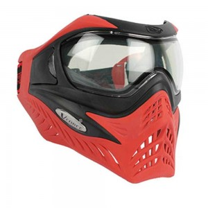 V-force Grill Paintball Mask SE- Black-Red