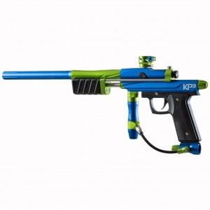 Azodin KP3 Kaos Pump 3 Paintball Marker- Blue-Green