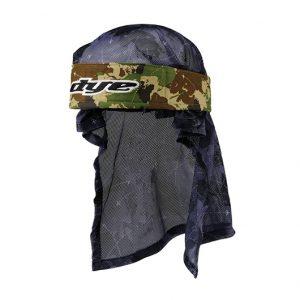 Dye headwrap global camo