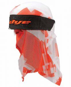 Dye Head Wrap - Airstrike Orange-White