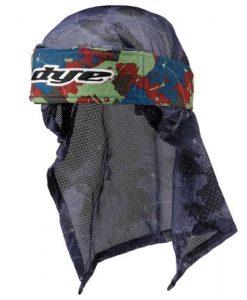 Dye Head Wrap - Global Blu-Rd-LT Grn